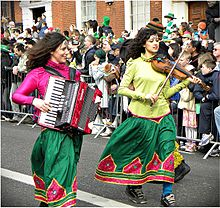 St Patricks Day Parade, Dubln Ireland