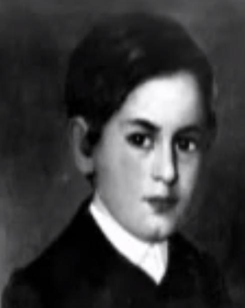 The young Sigmund Freud portrait